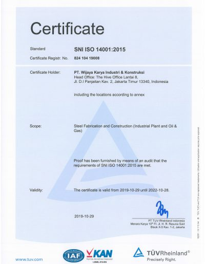 SNI ISO 14001:2015